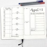 Weekly Spread: August 1-8, 2016