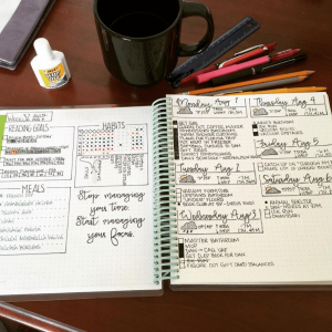 Habit Tracker from Instagram user @lexibaumbujo