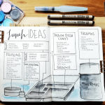 Back to School journal Spread from Instagram user @ordinaryepiphany. Templates, Inspiration, Giveaways and more at lifebywhitney.com.