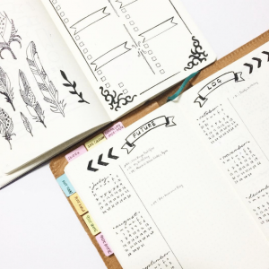Future Log from Instagram user @paper.muse. journal Yearly Spread Gallery. Templates, Inspiration, Giveaways and more at lifebywhitney.com.