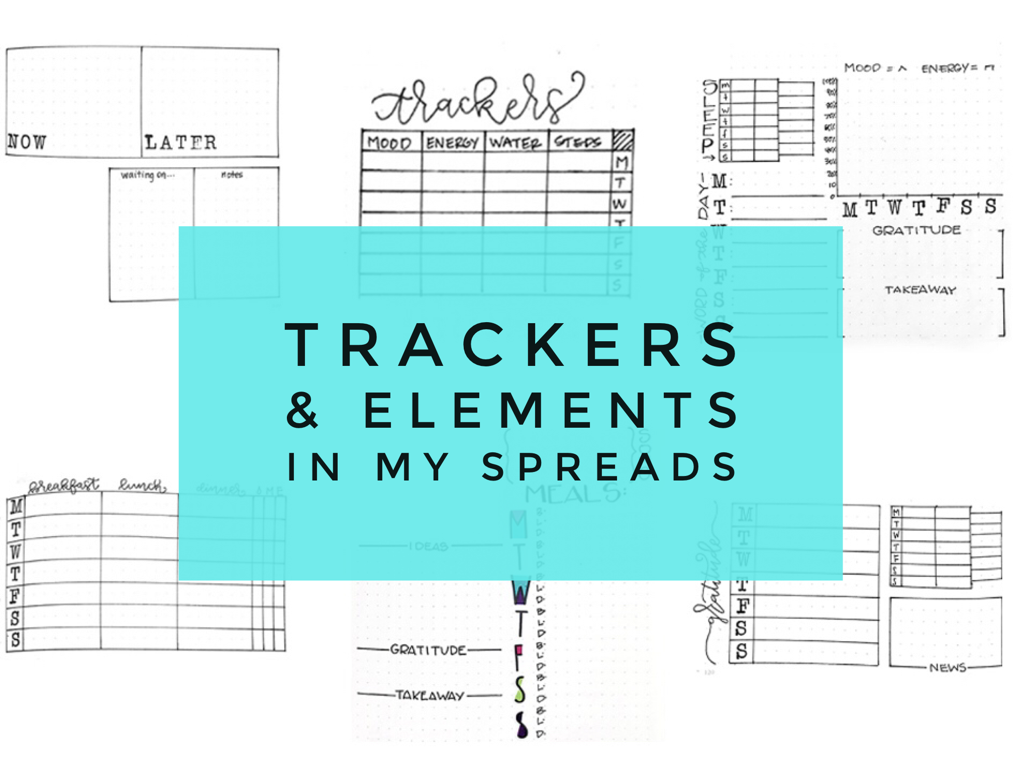 My Trackers & Spread Elements