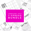 February 2017 7-Spread Bundle from Life by Whitney