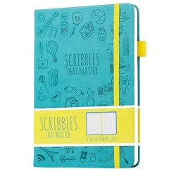 Scribbles That Matter - Dotted Journal Notebook Diary A5