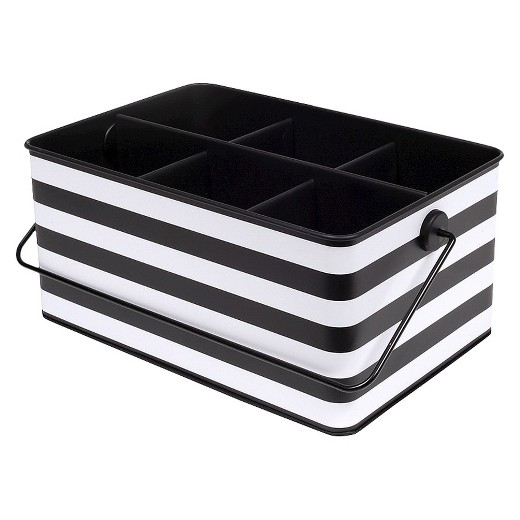 Black and White Desktop Storage Unit - Room Essentials™