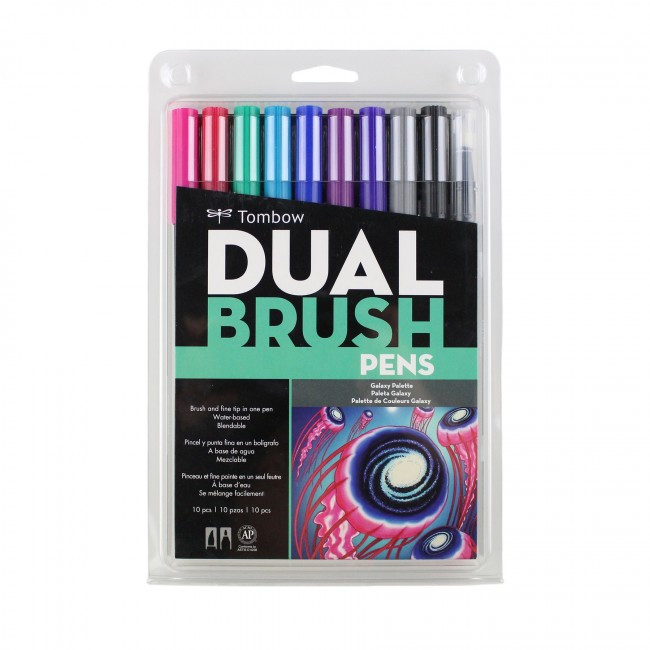 Tombow Dual Brush Pens Galaxy Pack