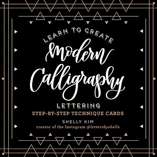 Learn to Create Modern Calligraphy Lettering Card Book