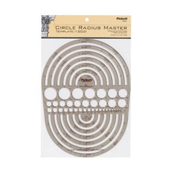 Pickett-Circle-Radius-Master-Template,-Circle-Range