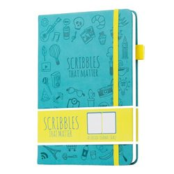 Scribbles That Matter (Iconic version) Dotted Journal Notebook Diary A5