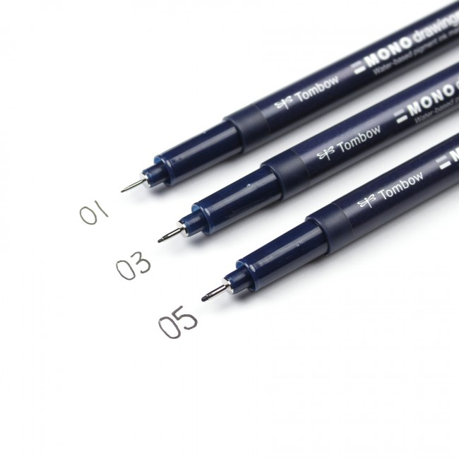 Tombow Mono Drawing Pens