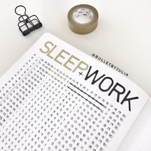 Love this sleep tracker from @bulletbyjulia! See more at lifebywhitney.com!
