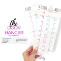 Transferring spreads has never been easier! This measurement door hanger takes the work out of spread transfer!