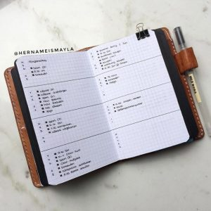 A collection of minimal journal spreads from around the Instagram world!