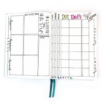 Track your goals as well as your daily productivity, mood, and energy with this layout! Stay on track to get it done!