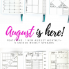 Want to try out new and unique spreads for the next 5 weeks? Here's 6 brand new, unique spreads for your journal that will last a full month. Measurement files are available in the bundle before anywhere else!