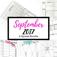 5 brand new weekly spreads and a monthly spread. Buy now & get a door hanger free with coupon code FREEDH with both in your cart at checkout.