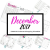 December is festive & fun and includes many goal-setting spreads and a bonus Christmas shopping spread!