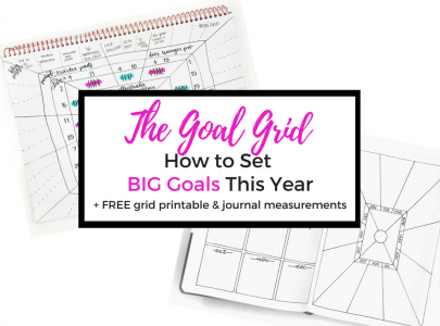 The Goal Grid: How to Set BIG Goals this Year