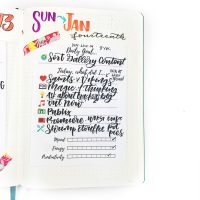 I love keeping up with everything about my day, and the tracker pads make it WAY easier when I'm too busy tor tired to pull out my journal!