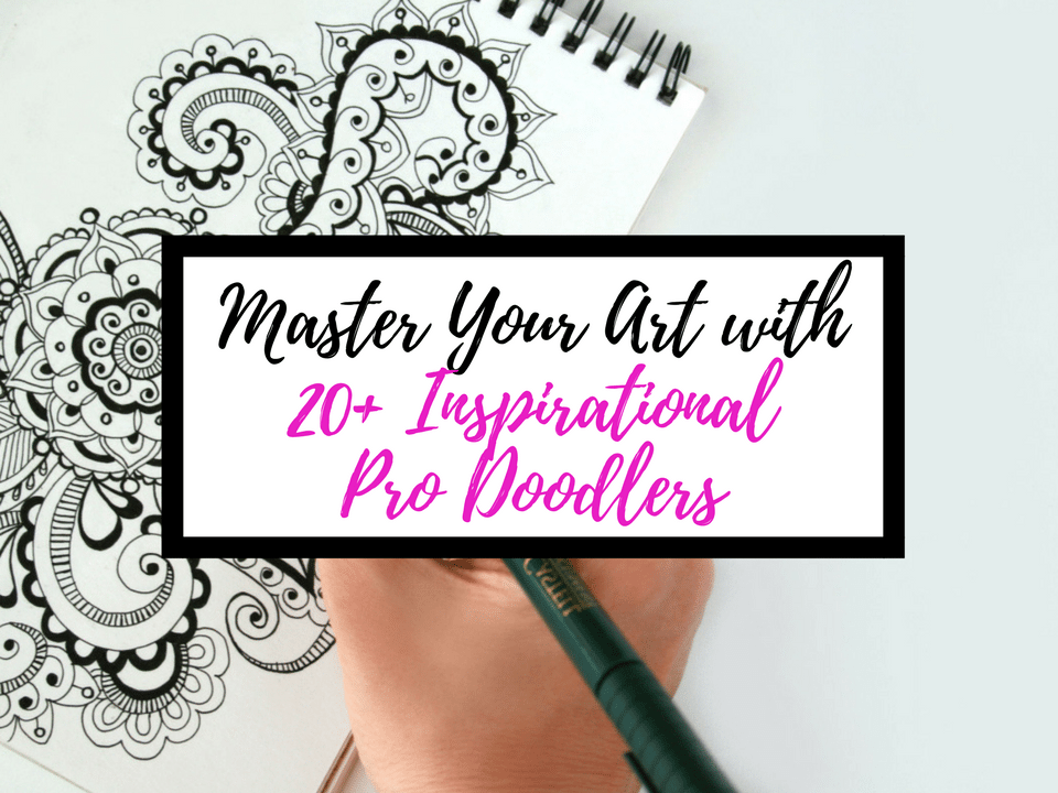 Doodle ideas for your journal from Instagram & the web. Master Doodling with 20+ Inspirational Doodle Accounts