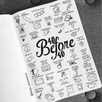 Doodle ideas from @bujo_blossoms. Master Doodling with 20+ Inspirational Doodle Accounts
