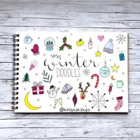 Doodle ideas for your journal from @kirbycat.bujo. Master Doodling with 20+ Inspirational Doodle Accounts