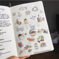 Doodle ideas for your journal from @magneticallyaesthetic. Master Doodling with 20+ Inspirational Doodle Accounts