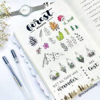 Doodle ideas for your journal from @oceanstudy. Master Doodling with 20+ Inspirational Doodle Accounts
