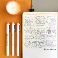 Doodle ideas for your journal from @thisscrapjournal. Master Doodling with 20+ Inspirational Doodle Accounts