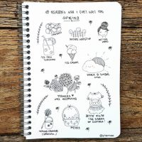 Doodle ideas for your journal from @yiramee. Master Doodling with 20+ Inspirational Doodle Accounts