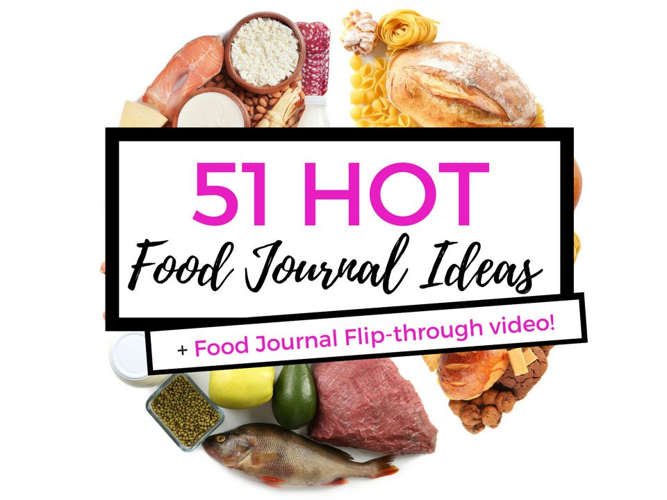 Largest collection of food spreads for your bullet journal. Check out 50+ meal planning, grocery shopping, meal tracking, meal ideas, food doodling, booze tracking, menu planning, and more at lifebywhitney.com