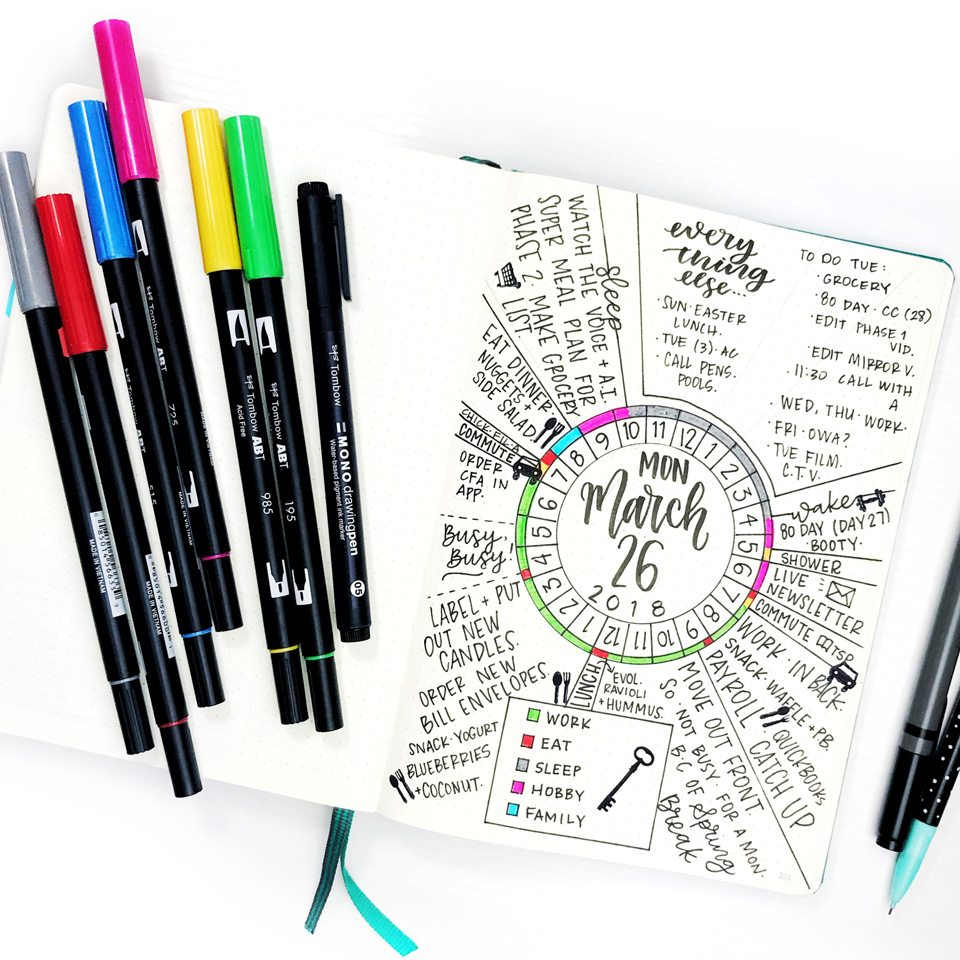Life by Whitney 24 Hour Circle Tracker