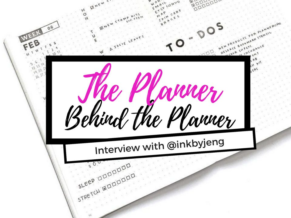 Learn how @inkbyjeng uses positivity as the forefront of her bullet journal - what are her go to planner supplies - and what is she addicted to? Read more at the Planner Behind the Planner series at lifebywhitney.com.