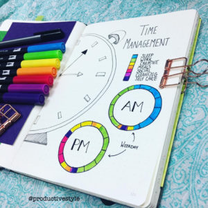 Love this circle tracker from @productivestyle. See more circle tracker inspiration at lifebywhitney.com!