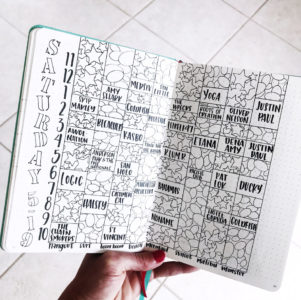 4 Simple Journal Doodles to Draw (even when you're NOT artistic). Here's my Hangout Festival line-up with some of these fun patterns!