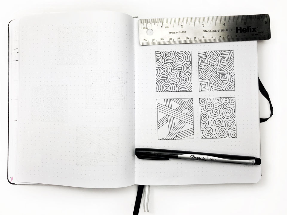4 Simple Journal Doodles to Draw (even when you're NOT artistic) | Life by Whitney