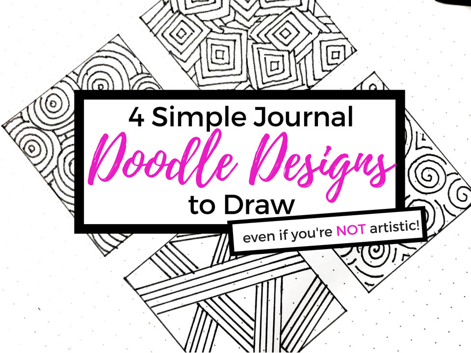 4 Easy Doodles To Draw In Your Journal Even If You Re Not Artistic