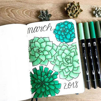 "Learn more about Ashlyn from @bluenittany with Part 4 of the Planner Behind the Planner - which 3 supplies are her ""must haves"" and who is her inspiration?"
