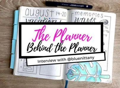 Planner Behind the Planner {Interview – @bluenittany}