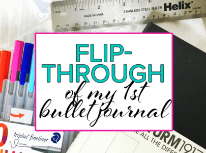 My Very First Bullet Journal Flip-Through & What I've Learned